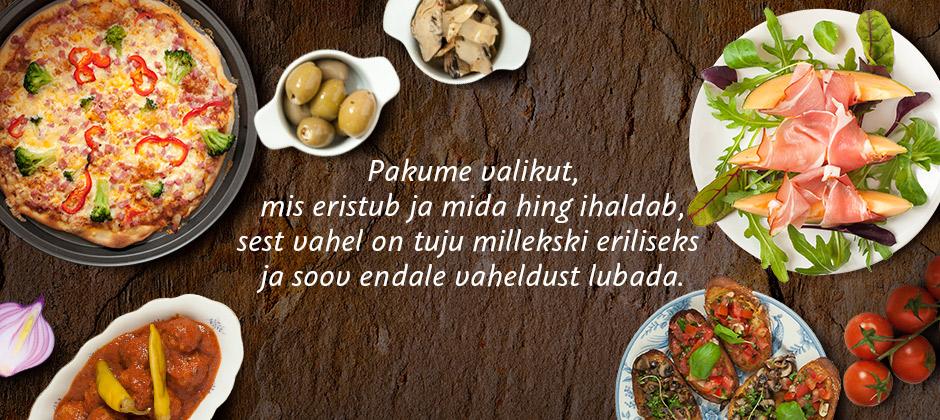 Pakume erilist valikut kõikides Delice Toidupoodides