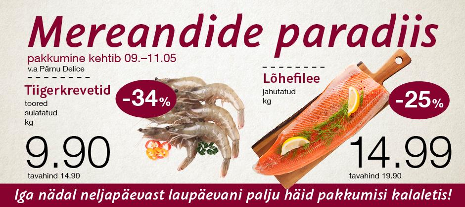 Delice mereandide paradiis 09.05-11.05