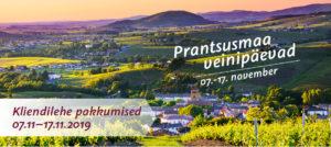 Prantsusmaa veinipäevade pakkumised 07.11-17.11